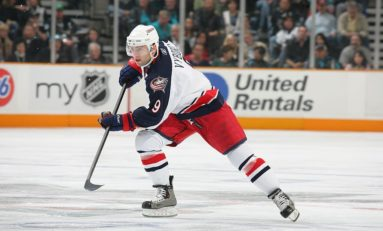 David Vyborny: The Blue Jackets' First No. 9