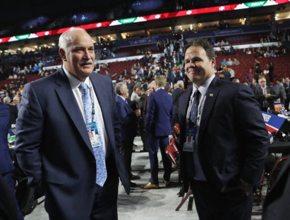 John Davidson Jeff Gorton New York Rangers 2019 NHL Draft