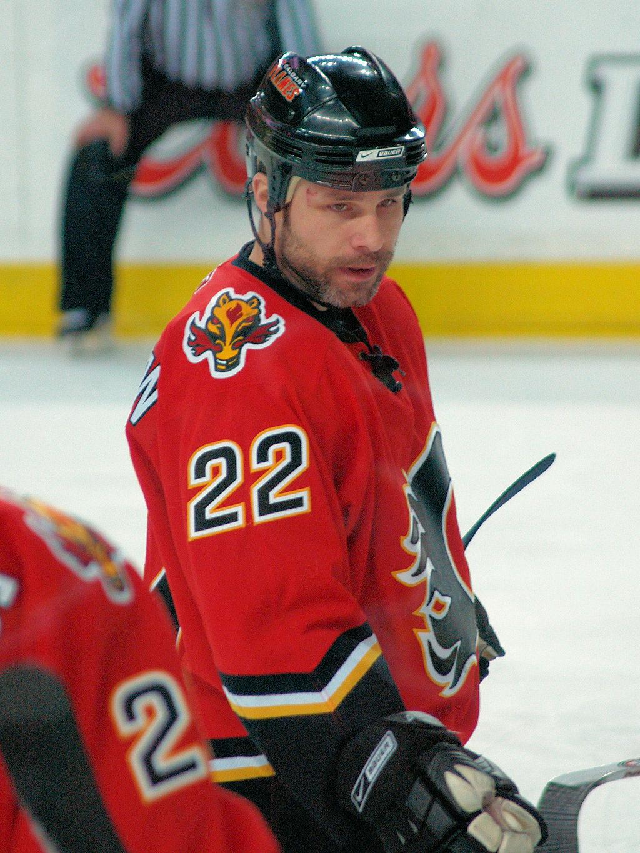 Daymond Langkow Calgary Flames