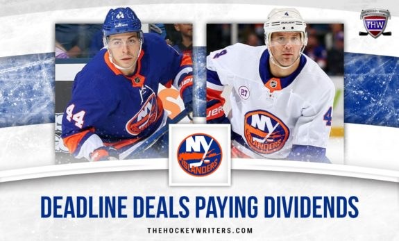 Lamoriello's Trade Dealine Moves Paying Playoff Dividends for New York Islanders Deadline Deals Paying Dividends Andy Greene and JG Jean-Gabriel Pageau