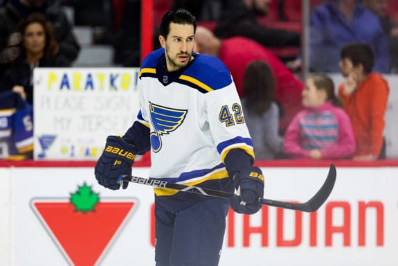 St. Louis Blues Michael Del Zotto