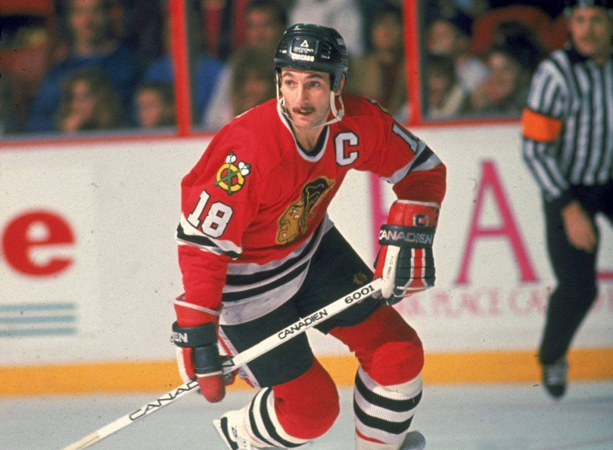 Denis Savard Chicago Blackhawks