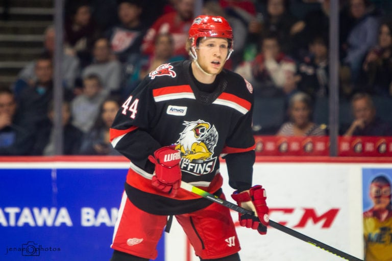 Dennis Cholowski Grand Rapids Griffins