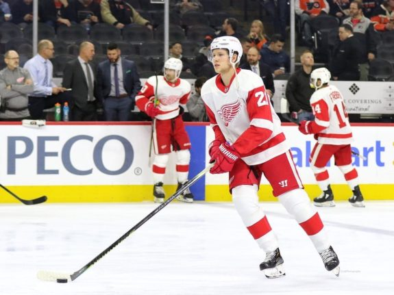 Dennis Cholowski Detroit Red Wings
