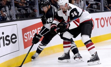 Michael Mersch Makes NHL Debut With Kings