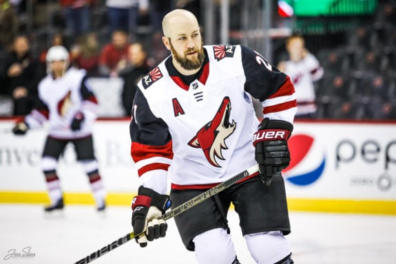 Derek Stepan Arizona Coyotes