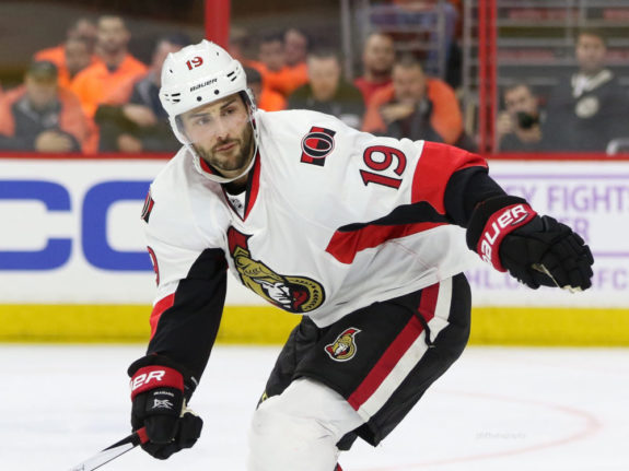 Ottawa Senators forward Derick Brassard
