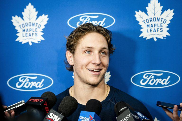 Travis Dermott Toronto Maple Leafs