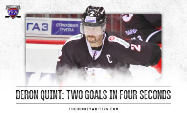 Jets 12 Days of Hockeymas: 2 Goals in 4 Seconds for Quint