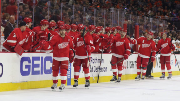 The Detroit Red Wings feature a lot of diversity in their lineup.