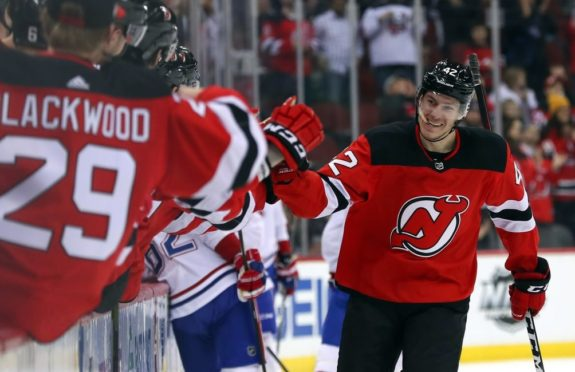 New Jersey Devils Nathan Bastian