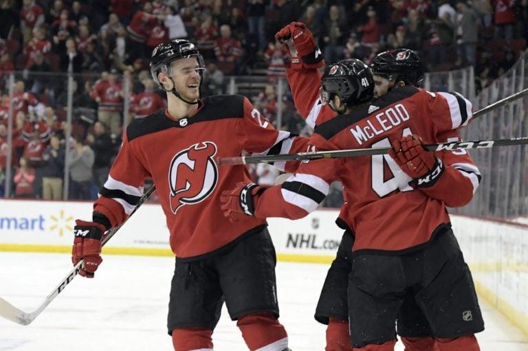 New Jersey Devils Kevin Rooney Michael McLeod Mirco Mueller