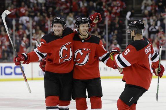 New Jersey Devils Sami Vatanen Andy Greene Jesper Bratt
