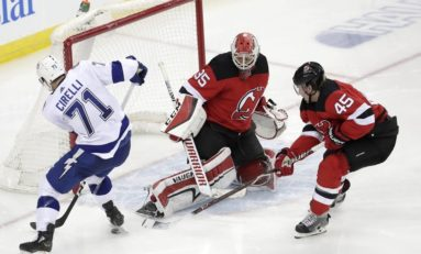 Lightning Shock Devils 5-1 - Kucherov Tallies 4 Points