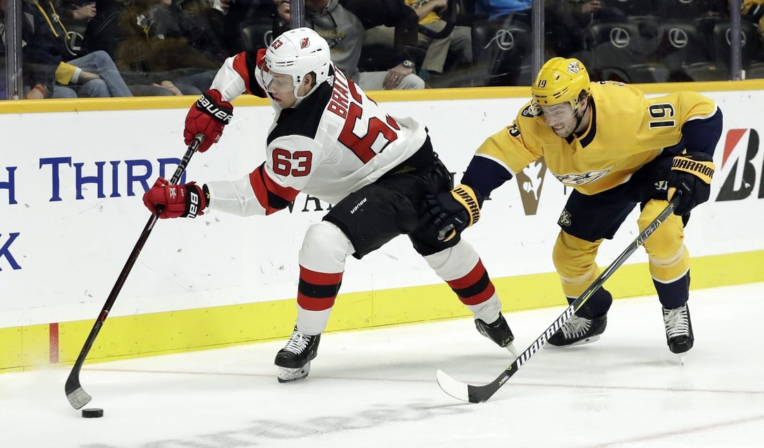 Nashville Predators Beat New Jersey Devils in Six-Round Shootout