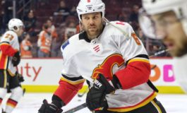 Dube Scores in 7th Round of Shootout, Flames Beat Wild 5-4