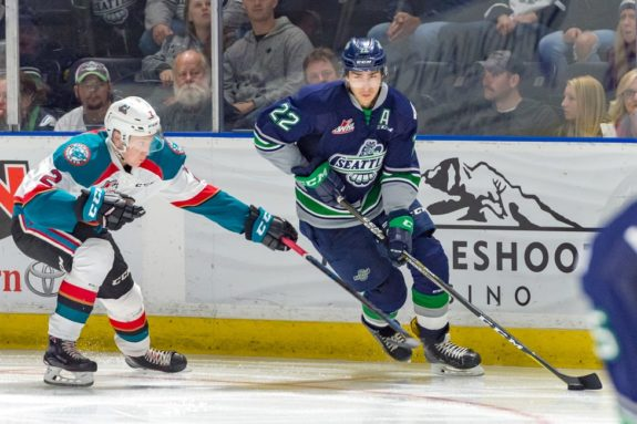 Dillon Hamaliuk Seattle Thunderbirds