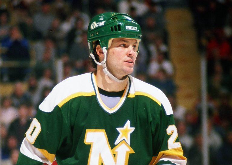 Dino Ciccarelli Minnesota North Stars