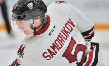 Dmitri Samorukov Gearing up for the Draft