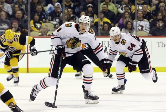 Dominik Kubalik Chicago Blackhawks