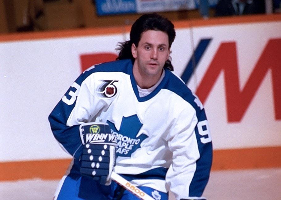 Doug Gilmour Toronto Maple Leafs