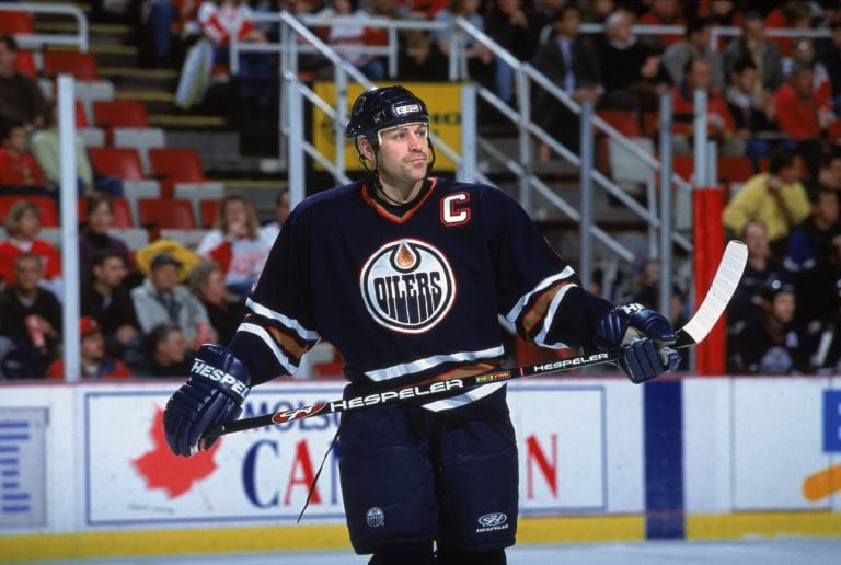 Doug Weight Edmonton Oilers