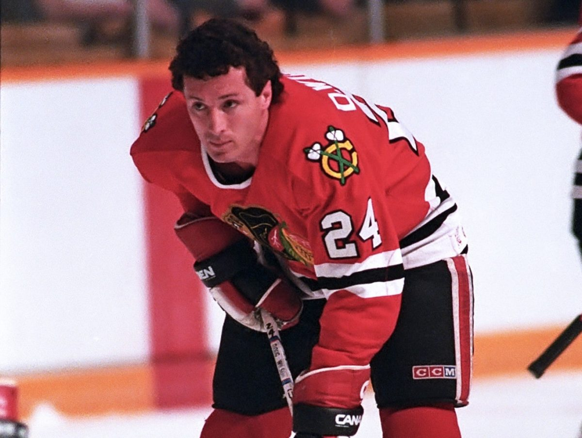 Doug Wilson Chicago Black Hawks