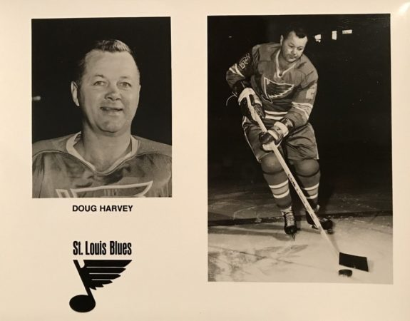Doug Harvey St. Louis Blues
