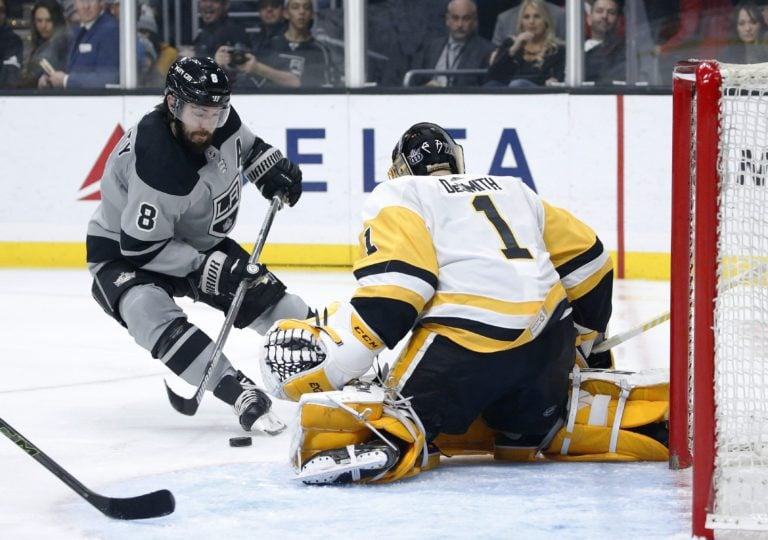 Los Angeles Kings Drew Doughty Pittsburgh Penguins Casey DeSmith