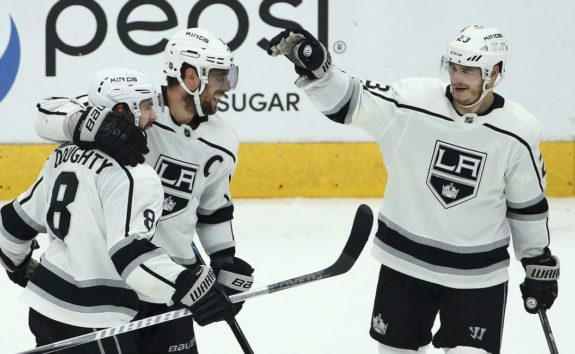 Los Angeles Kings Drew Doughty Anze Kopitar Dustin Brown