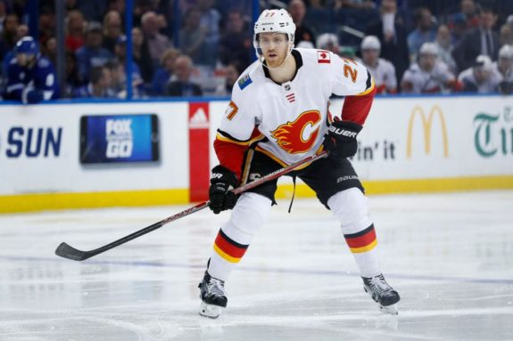 Calgary Flames defenseman Dougie Hamilton