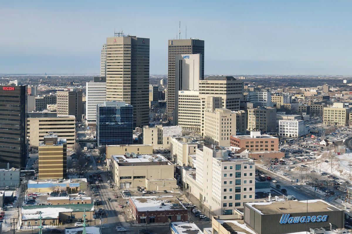 Winnipeg Downtown Area