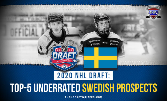 2020 NHL Draft: Top-5 Underrated Swedish Prospects Noel Gunler, Zion Nybeck and Oliver Tarnstrom