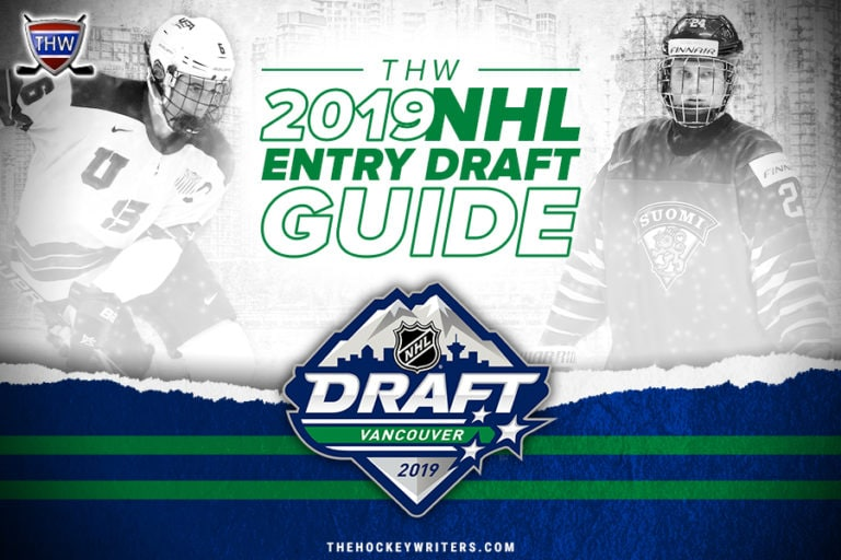 Vancouver THW 2019 NHL Entry Draft Guide