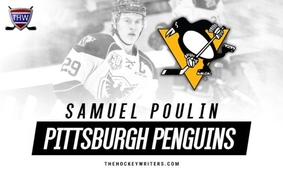 Samuel Poulin Pittsburgh Penguins