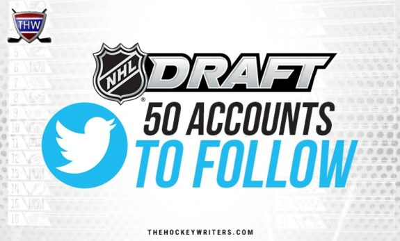 NHL Draft: 50 Twitter Accounts to Follow