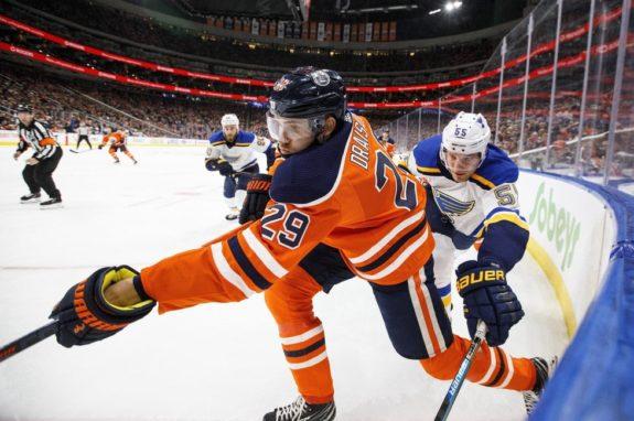 Edmonton Oilers' Leon Draisaitl