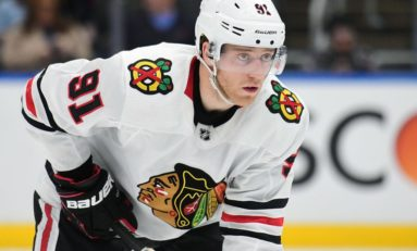 Blackhawks' Drake Caggiula Has Had One Hell of a Year