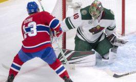 Wild Squeak by Canadiens - Dubnyk Gets 32-Shot Shutout