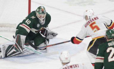 Flames Overcome Wild on Tkachuk's Winner