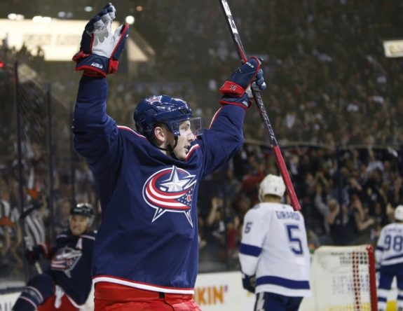 Columbus Blue Jackets' Matt Duchene