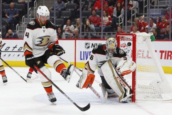 Anaheim Ducks Cam Fowler John Gibson
