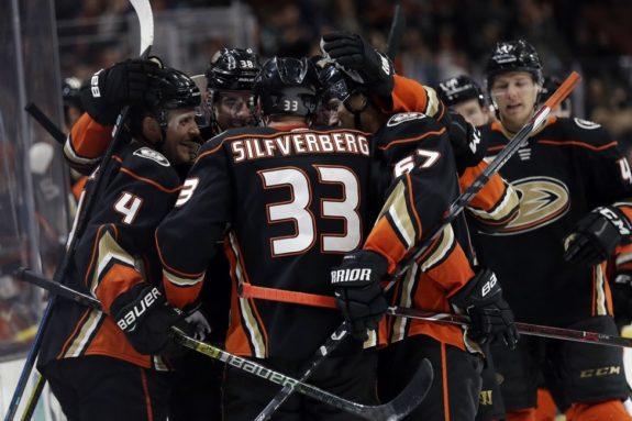 Jakob Silfverberg Anaheim Ducks