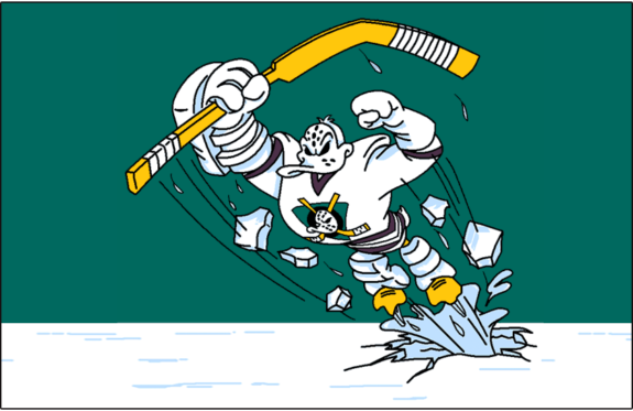 Anaheim Mighty Ducks Wild Wing Alternate Logo