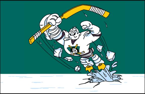 Anaheim Mighty Ducks Wild Wing Alternate Logo ecbcfb707