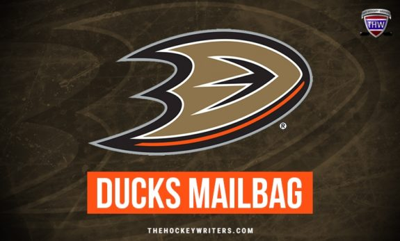 Anaheim Ducks Mailbag
