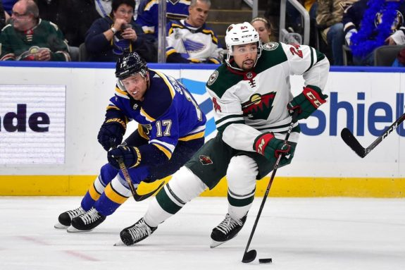 Minnesota Wild Matt Dumba St. Louis Blues Jaden Schwartz