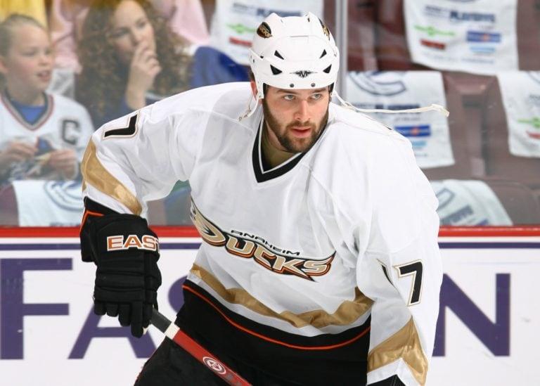 Dustin Penner Anaheim Ducks