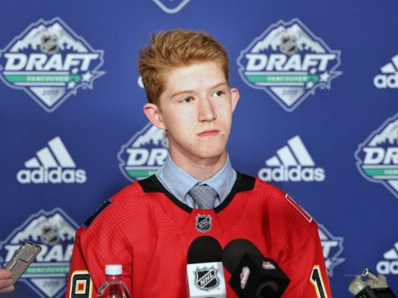 Dustin Wolf Calgary Flames Draft