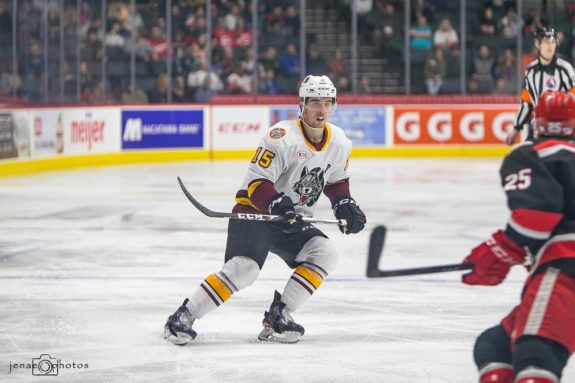 Dylan Coghlan Chicago Wolves